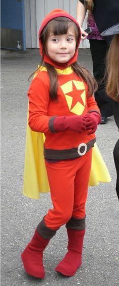 Word up, it's Word Girl! - Threads    one of these days, for Halloween