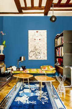 *과거와 현재, 유럽과 일본을 섞다 Shinsuke Kawahara's Whimsical Paris Apartment :: 5osA: [오사]