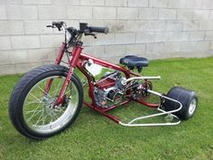 Risultati immagini per motorized drift trike Custom Trikes, Custom Motorcycles, Custom Moped, Drift Trike Frame, Bike Drift, Drift Trike Motorized, Bike Cart, Motorised Bike, Karts