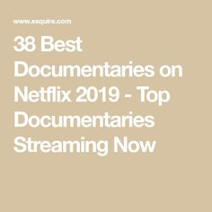 38 Best Documentaries on Netflix 2019 - Top Documentaries Streaming Now Funny Movies, Top Movies, Action Film, Action Movies, Best Documentaries On Netflix, Netflix Subscription, Documentary Filmmaking, Jim Morrison Movie, Oscar Wins