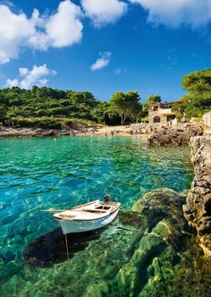Zitna bay, Korcula, photo expression
