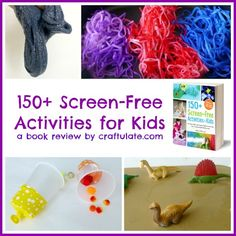 150+ Screen-Free Activities for Kids - book review by Craftulate
