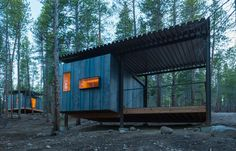 Nice simple minimalistic cabins in Colorado : more here #architecture…
