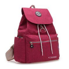 e2f6ca6b4ec6   gt Sale onNew Waterproof Nylon Women Backpacks Shoulder Schoolbag Mochila  Feminina Rucksack Backpack Female