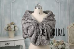 Hey, I found this really awesome Etsy listing at https://www.etsy.com/listing/213398066/faux-fur-bridal-wrap-shrug-stole-shawl
