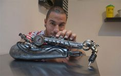 This Guy Has Become The World's First Cyborg Tattoo Artist