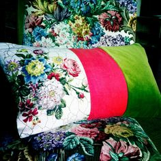 Floral-inspired products from Sarah Moore Vintage