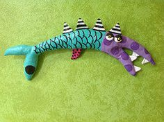 Funky Fish  Angry Louisiana Mullet by jodieflowers on Etsy