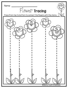 Preschool May Math & Literacy - Fun Graphics - Ideas of Fun Graphics - Preschool Learning Activities, Free Preschool, Preschool Printables, Preschool Worksheets, Pre Writing, Kids Writing, Plant Life Cycle Worksheet, Line Tracing Worksheets, Community Helpers Preschool