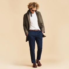 timeless // menswear, mens style, fashion, jcrew, basics, clothes, guys, chinos, jacket, sweater, oxfords, dress shoes