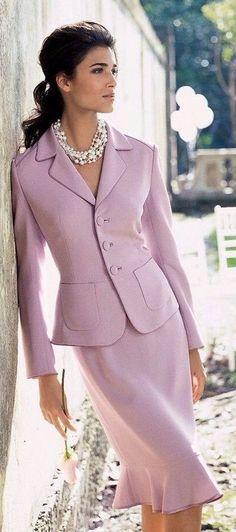 Trendy suit - sweet image