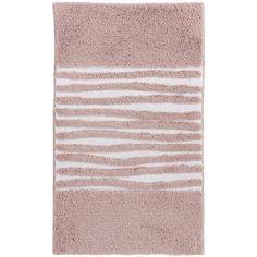 Aquanova Morgan Bath Mat   Dusty Pink   60x100cm (u20ac57) ❤ Liked On Polyvore  Featuring Home, Bed U0026 Bath, Bath, Bath Rugs, Pink, Pink Bath Mat, ...