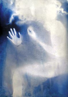 "flickr.com →    Artist & Photographer:    Rosanna Jones    ""Untitled""        ""Body Project Cyanotype."""