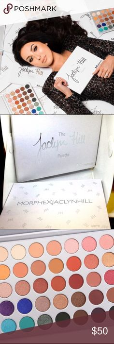 MORPHE JACKLYN HILL PALETTE MORPHE X JACLYN HILL This is not your average eye palette. That'd be boring. We (& most importantly, Jaclyn Hill) don't do boring. This palette is a 2-year love affair. 35 brand-new, OMG eyeshadows that Jaclyn whipped up, formulated, tested, re-tested, and perfected. They were created to deliver not only the best color payoff but also amazing application. Mattes, shimmers, satins, foils, and glitter: all pressed to perfection...just the way Jaclyn wanted. Her…