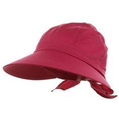 Fuchsia Pink Wide Brim Peak Gardening Sun Hat. Fuchsia Pink Wide Brim Peak  Gardening Sun 7a6b34c6cdb6
