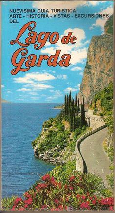 LAGO DE GARDA. GUIA TURISTICA. HERMOSAS FOTOGRAFIAS. 144 PAG.