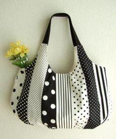 Love this bag!! * Larger Tea time * croissant bag of Monet