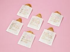 La Fille du Boulanger - Rebrand on Behance Restaurant Branding, Bakery Branding, Branding Agency, Brand Packaging, Packaging Design, Branding Design, Corporate Design, Quebec, Visual Identity