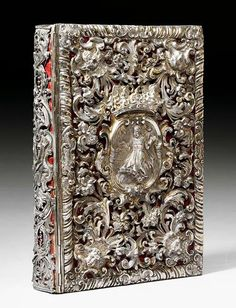 For the love of Books...Silver Binding, Augsburg, end of 17th century.