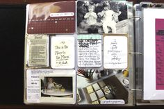 Love the tabs on the photos, the variation of thick and thin lines for journaling, and the centered journaling.