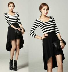 Dress Syahrini Edision .Black and White Spesial .Click and Get Now
