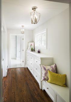 Mark Road Residence | Master Bedroom Hall | Z+ Interiors