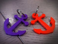 Anchor key chain by mjmedien - Thingiverse