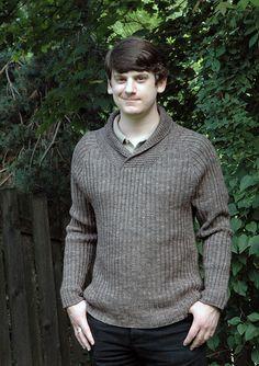 Ravelry: Traveling Man sweater pattern by Anne Berk