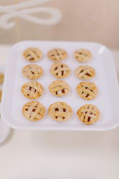 Mini pies! http://www.stylemepretty.com/living/2014/02/27/bite-sized-party-food/