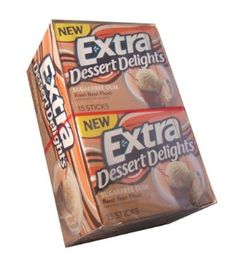 Extra Dessert Delights Sugarfree Gum Root Beer Float Flavored Gum Ten 15 Stick Packs --- http://www.amazon.com/Extra-Dessert-Delights-Sugarfree-Flavored/dp/B008GU9L2Y/ref=sr_1_2/?tag=http://amzn.to/17PhQw1