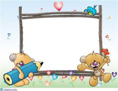 Frames, Template, Moldings, Kawaii Background, Group Photos, Cover Pages, School, Paintings, Bebe
