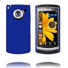 Hard Shell (Blå) Samsung i8910 Omnia HD Deksel