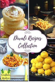 DIWALI RECIPES / EASY DIWALI SWEETS RECIPES / DIWALI SNACKS RECIPES Easy Sweets, Sweets Recipes, Indian Food Recipes, Snack Recipes, Cooking Recipes, Desserts, Diwali Snacks, Diwali Food, Diwali Recipes