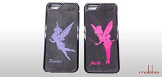 Tinkerbell Fairy Smartphone cases personalized with your name!!! iPhone 5/5S Case handmade from genuine leather!  Handgemacht aus echtem Leder für iPhone 5/5S & iPhone 4/4S <3