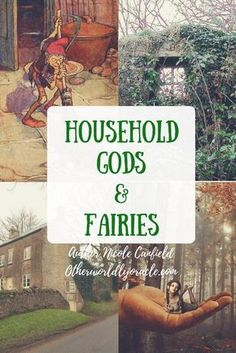 In ancient times, our ancestors honored household gods, ancestors, and fairies. Learn of these ancient traditions and why we've lost them in modern times. Eclectic Witch, Modern Witch, All Nature, Practical Magic, Spiritual Path, Kitchen Witch, In Ancient Times, Spirit Guides, Magical Creatures