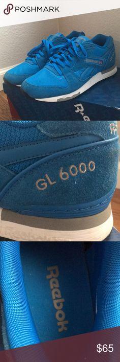 677e3825d66e Reebok classic GL6000 Men's Reebok classic GL6000 Suede details Worn only  once Reebok Shoes Sneakers Reebok