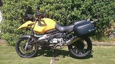 2001 bmw #r1150gs #mandarin #yellow,  View more on the LINK: 	http://www.zeppy.io/product/gb/2/281938611041/