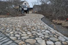 mailbox landing at end of driveway | In addition to driveway aprons, we also build driveways with shell ...