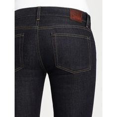 Ralph Lauren Blue Label Bethel Bootcut Jeans ($99) ❤ liked on Polyvore