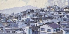 denim art Theme: a view of Busan Auther:So young Choi