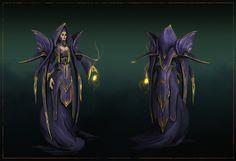 ArtStation - High Wizard Character Concept , Uros Sljivic