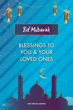 Wishing everyone Eid Mubarak. #Ramadan #Eid #EidMubarak #Eid2021 #GraphicDesign #Dubai #Media #Marketing Marketing Services, Media Marketing, Eid Mubarak, Ramadan, Dubai, First Love, Blessed, Graphic Design, Movie Posters