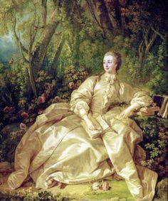Madame de Pompadour por François Boucher ,uno de sus Pintores predilectos