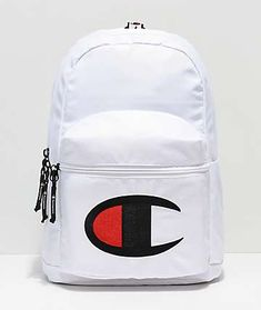 Champion Supercize White Mini Backpack Travel Necessities a6e9d8a3d5a5b