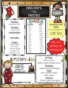 One Fab Teacher's 48 Editable newsletters for the entire year!