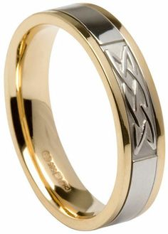 41 best Celtic Knot Wedding Rings images on Pinterest | Celtic knot ...