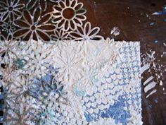 Stenciling with Misty Russell