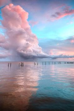 Serenity Pantone 2016 is said: shade of the yr is. Rose Quartz and Serenity blue. Sky, clouds, and Cheap Beach Vacations, All Nature, Beauty Of Nature, Sky And Clouds, Pink Clouds, Colorful Clouds, Color Of The Year, Belle Photo, Pretty Pictures