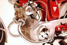Honda SS125A engine