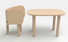 Elephant Table And Chair